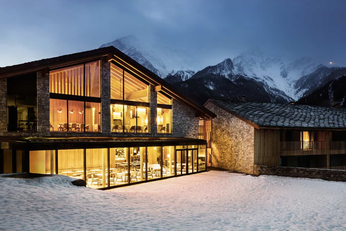 Grand Hotel Courmayeur Mont Blanc. Samovar