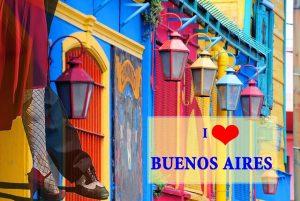 I love Buenos Aires per web e fb