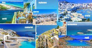 Mix isole Spagna e Grecia per web